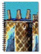 Lattice Spiral Notebook