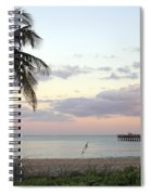 Lauderdale By The Sea Florida Sunset Spiral Notebook