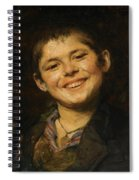 Laughing Boy Spiral Notebook