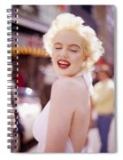 Laughter Of Marilyn Spiral Notebook