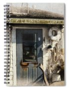 Launch Office Mcmillian Wharf Provincetown Spiral Notebook
