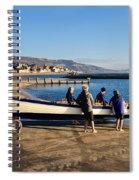 Launching Black Ven Spiral Notebook
