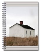 Laundress House At American Camp Spiral Notebook