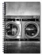 Laundromat Art Spiral Notebook