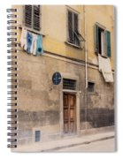Laundry Day In Verona Spiral Notebook