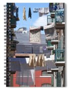 Laundry Ix Color Venice Italy Spiral Notebook