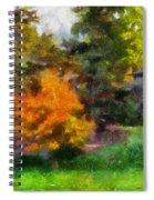 Laura Bradley Park Japanese Garden 02 Spiral Notebook