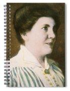 Laura Ingalls Wilder (1867-1957) Spiral Notebook