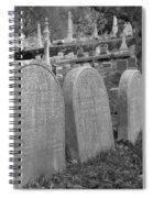 Laurel Hill Headstones Spiral Notebook