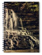 Laurel Run Falls Spiral Notebook