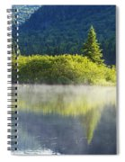 Laurentian Summer Morning Spiral Notebook