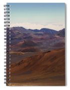 Lava Color Spiral Notebook