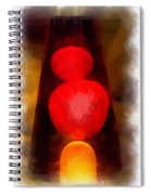 Lava Lamp Photo Art 04 Spiral Notebook