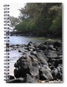 Lava Rocks Spiral Notebook