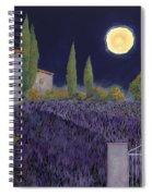 Lavanda Di Notte Spiral Notebook