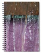 Lavendar Falls Spiral Notebook