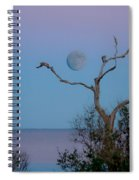 Lavendar Moon Spiral Notebook