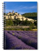 Lavender And Banon Spiral Notebook