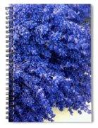 Lavender Bunch Flowers Spiral Notebook