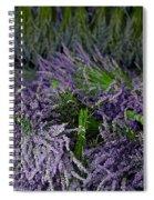 Lavender Bundles Spiral Notebook