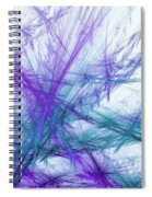 Lavender Crosshatch Spiral Notebook