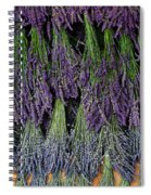 Lavender Drying Rack Spiral Notebook