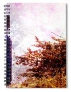 Lavender Essential Oil Bottle Spiral Notebook