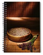 Lavender Flowers And Seeds Spiral Notebook
