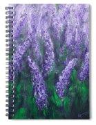 Lavender Garden II Spiral Notebook