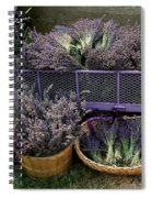 Lavender Harvest Spiral Notebook