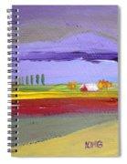 Lavender Hills Spiral Notebook