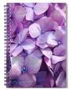 Lavender Hydrangea Spiral Notebook