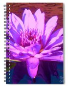 Lavender Lily Spiral Notebook