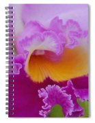 Lavender Orchid Spiral Notebook