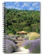 Lavender Path Spiral Notebook