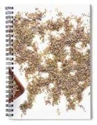 Lavender Seeds Spiral Notebook