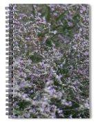 Lavender Silver Lining Spiral Notebook