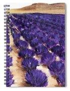 Lavender Study - Marignac-en-diois Spiral Notebook