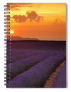 Lavender Sunset Spiral Notebook