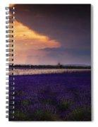 Lavender Thunderstorm Spiral Notebook