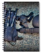 Law Enforcement -swat Gear - Entry Tools Spiral Notebook
