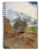 Lawrence Union Pacific Depot Spiral Notebook