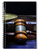 Lawyer - Books Of Justice Spiral Notebook