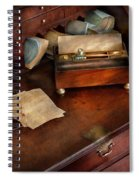 Lawyer - Important Documents  Spiral Notebook