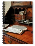 Lawyer - Quill Papers And Pipe Spiral Notebook
