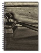 Lawyer - The Gavel Spiral Notebook
