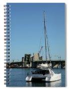 Lay At Anchor Spiral Notebook