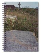 Lay In Forgotten Fields Spiral Notebook
