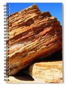 Layered Broome Rock Spiral Notebook