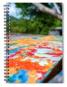 Layered Spiral Notebook